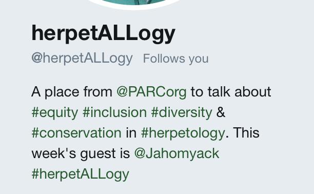#herpetALLogy takover April 2019